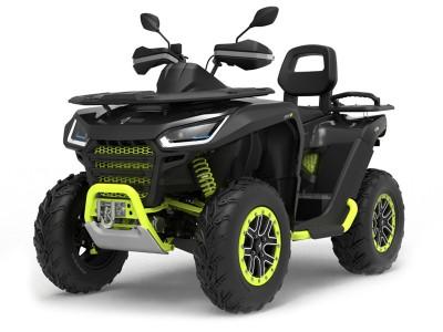 Snarler AT6 L Limited - Black/Green