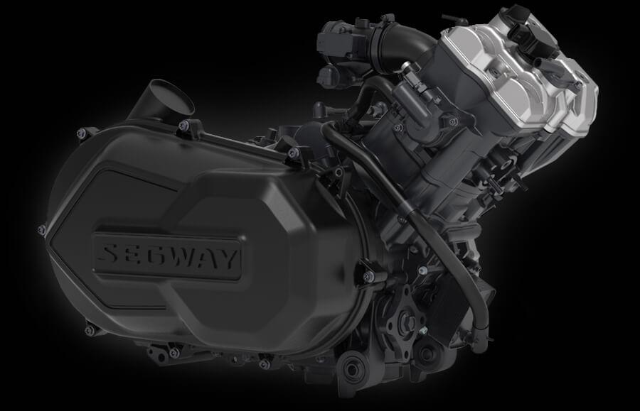 Výkonný motor DOHC